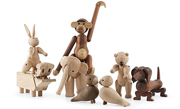 Træfigurer fra Kay Bojesen